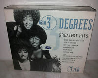 3 CD THE 3 DEGREES - GREATEST HITS - NUOVO NEW