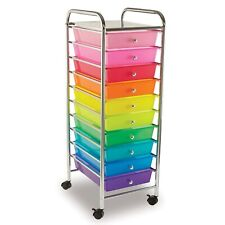 10 Drawer Rolling Cart by Simply Tidy
