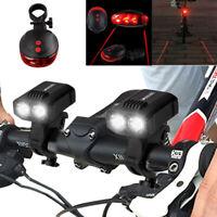 Bici USB recargable LED bicicleta brillante bicicleta faro delantero lámpara luz