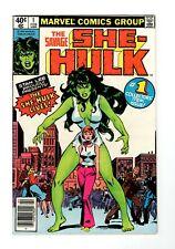 Savage She-Hulk (1980) #1 1st Print 1st Appearance Origin (Jennifer Walters)
