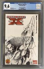 ULTIMATE X-MEN #1 CGC 9.6 DYNAMIC FORCES SKETCH EDITION ADAM KUBERT ART