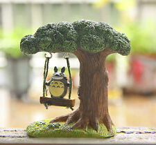 Unique My Neighbor Totoro Swing On Tree Action Figure Set Toy Gardening 9cm