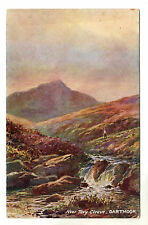 Near Tavy Cleave - Dartmoor Tucks Art Postcard 1918
