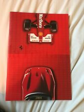 2001 LA FERRARI YEARBOOK ANNUAL BOOK BROCHURE MODEL RANGE F2001 550 360 MODENA