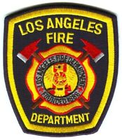 Los Angeles Fire Department Patch California CA LAFD