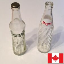 Vintage Soda Bottle Crush Pepsi Lot Old Collectable Bottles (2)