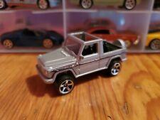 Custom Hot Wheels Mercedes Benz G-Wagon Cabrio 1/64