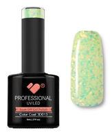 3D-013 VB™ Line Gold in Lime Glitter - UV/LED soak off gel nail polish