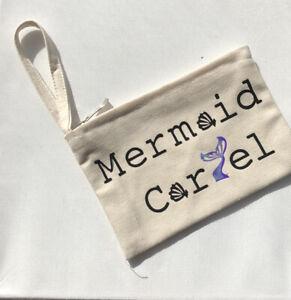 Handmade Mermaid Cartel Zip Pouch