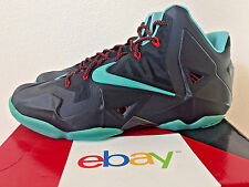 DS Nike Lebron xi DIFFUSED JADE Size 13 new blue black red mvp 616175 004 x ix v