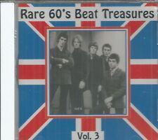 RARE 60'S BEAT TREASURES - Vol. 3 -  BRAND NEW -  CD
