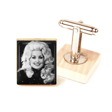 dolly parton cufflinks country music cufflinks handmade unique dolly parton gift