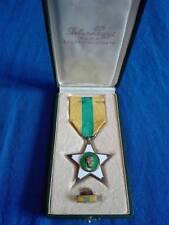 Medaglia stella al merito del lavoro 1924 con custodia originale completa