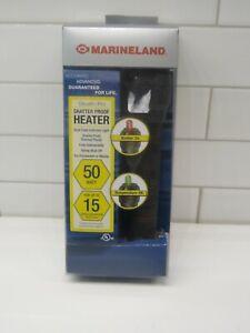 Marineland Stealth pro Precision Submersible Heater 50 watt for 15 gal Aquariums