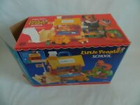 Vintage 1988 Fisher Price Little People School 2550 wOrginal Box wo chalk