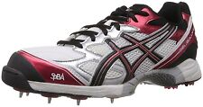 ASICS MEN'S GEL-GULLY 3 SPIKES CRICKET SHOES  - Size US 8 - Euro 41.5 - 26 CM