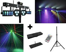 EUROLITE LED KLS FX Laser Bar Lichtset Lichtanlage LED Strobe Showlaser m.Stativ