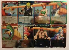 One Piece Miracle Battle Carddass Rare Set OPLOG01 8/8 Log Selection