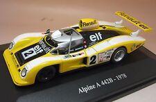 ELIGOR ALPINE A 442B LE MANS 1978 1/43 ETAT NEUF D'ORIGINE