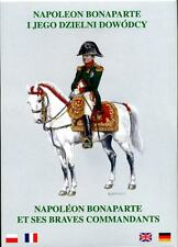 Napoleon Bonaparte and His Brave Commanders. (French Marshals)  9 postcards set