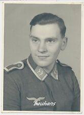 Portrait-Foto Unteroffizier Fliegertruppe 2.WK (t291)