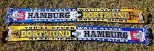 """Dortmund Hamburg Schal """"Freundschaftsschal"""" HH 2 Block DO Kurve Fan 100% Acryl"""