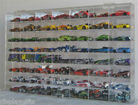 56 Hot Wheels 1:64 Scale Diecast Display Case, UV Protection Acrylic, AHW64-56