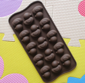 15 icons Silicone Base Chocolate Duck Mould Baking Soap Candle Animal Easter