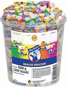 (4,48€ / kg) Frigeo Ahoj Brause Brocken 200 Stück = 1,6kg
