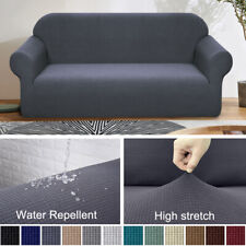 Waterproof Elastic STRETCH SOFA COVERS Slipcover Protector Settee 1/2/3/4 Seater