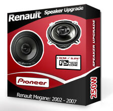 "Renault Megane Front Door Speakers Pioneer 5.25"" 13cm car speaker kit 250W"