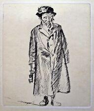 Frank William Brangwyn RA RWS RBA (1867-1956) Standing figure with keys. 1931
