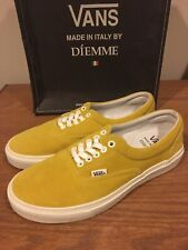 Vans Diemme 2013 Montebelluna Era LX Yellow Made In Italy Size 8.5 New