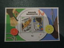Denmark stamp MNH souvenir sheet 2016 'Nordic Foodculture'