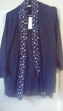 Ladies Marks & Spencer layered look blouse and cardigan size 20 BNWT *""