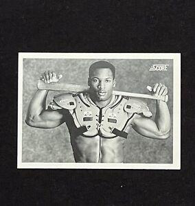 1990 SCORE  #697 BO JACKSON RAIDERS ROYALS ICONIC BASEBALL CARD *HOT* NM+