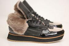 NEW Aquatalia 'Jacinda' Weatherproof Genuine Shearling Sneaker- Size 5.5US (U38)
