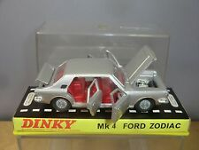 "DINKY TOYS MODEL No.164 FORD ZODIAC MK1V  ""SILVER VERSION"" VN MIB"