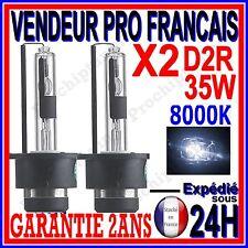 2 AMPOULES D2R BI XENON 35W KIT HID LAMPE DE RECHANGE D ORIGINE FEU PHARE 8000K