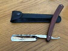 Thiers Issard Straight Razor Hollow Ground Fully Warranted Made In France W/Case