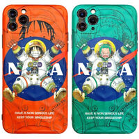 NASA Luffy Zoro Astronaut One Piece Phone Cover Case For iPhone 11 Pro Max XR SE