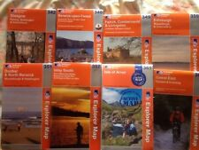 SCOTLAND. Ordnance Survey OS Explorer Maps ASK FOR NUMBERS AVAILABLE B4 BUYING