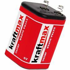 2 x Kraftmax 4R25 Batterie Block - 6V / 9500mAh 9,5Ah - 6 Volt Baustelle