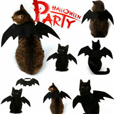 Christmas Cosplay Pet Dog Cat Funny Clothing Black Bat Wings Costume 1 Pcs