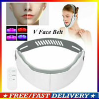 FACE LIFTING DEVICE CHIN V‑LINE UP LIFT BELT RED BLUE LED PHOTON THERAPY MACHINE