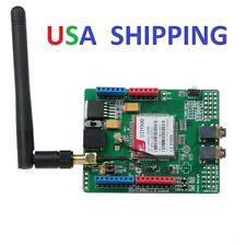 QUAD-BAND SIM900 (SIMCOM) GSM/GPR SHIELD DEVELOPEMENT BOARD & ANTENNA ! USA SHIP