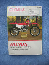 Clymer Repair Service Shop Manual Honda XL125S/185S/200R XR185/200/R TLR200