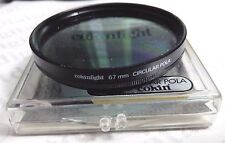 Genuine France 67mm Cokin Circular Pola Polarizing Lens Filter 67 mm CPL P-CL
