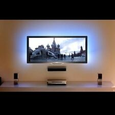 """8ft blue TV background LED Light for 32"""" 42"""" 50"""" 55"""" + wireless remote & Power"""