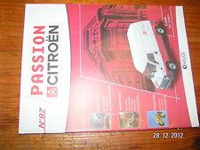Fascicule Passion Citroen n°97 C25D de 1987 Loeb Elena C6 de 1930 Bx en 1983